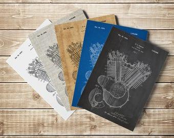 Harley Printable, Harley Wall Print, Harley Decor, Harley Wall Decor, Davidson Decor, Harley Poster, Harley Patent Art,Art, INSTANT DOWNLOAD