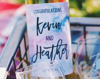 Custom Wine Labels | Wine Label | Engagement Ideas | Wine | Personalized Labels | Wedding Ideas | Engagement Party