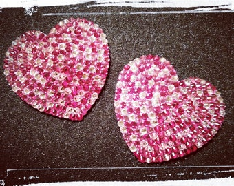 Heart pasties MADE TO ORDER