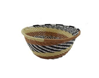 Small telephone wire basket, African Basket ,