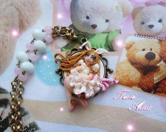Elegant Bunny Girl necklace