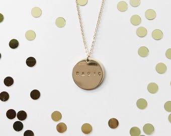 Magic Necklace // Disc Necklace // Disney Necklace