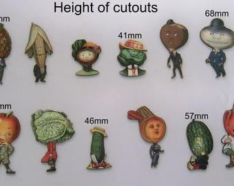 FRUITS & légumes corps et têtes