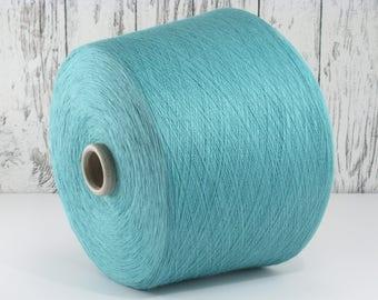 600g cotton yarn on cone, Italy/cotton yarn (Italy) on cone: Y001109