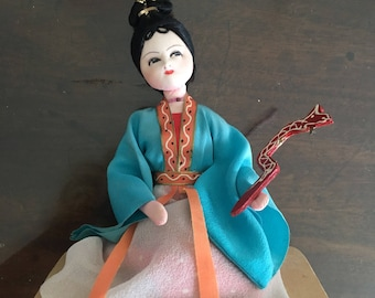 Chinese doll in national costume