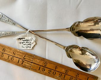 Harrison Fisher salad tongs in superb condition