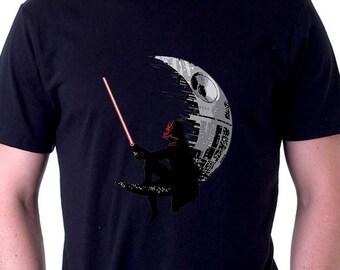 Darth Vader Shirt Death Star Moon Shirt