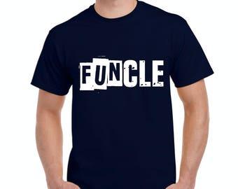 Family T-Shirt Funcle  Men's T-Shirt Tee