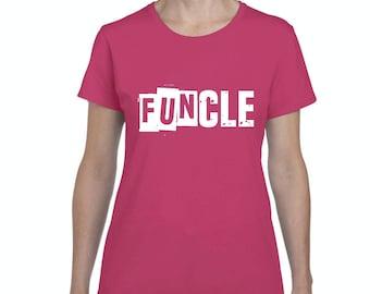 Family T-Shirt Funcle  Women's T-shirt Tee