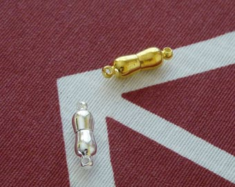 Magnetic Clasps, Strong Magnetic Clasps, 1/5x Gold Silver Magnetic Clasps, Magnetic Necklace Clasps, Magnetic Fasteners, Magnetic Closures