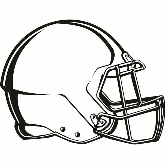 Football Helmet 3 Equipment Sports Game Uniform Logo .SVG