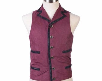 Doctor Who Purple Vest Cosplay Costumes