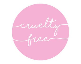 "Cruelty Free Cursive 1"" Pinback Button - Vegan, Vegetarian, Animal Rights, Animal Liberation, Veganism, Activism"