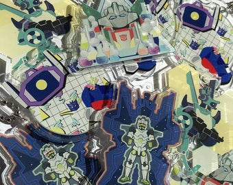 Transformers Acrylic Charms