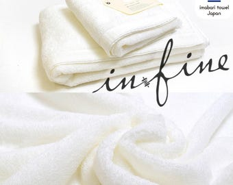 Custom Personalized Embroidered Hand and Bath Towels - Infine imabari towel - Made In Japan - Fluffy Type