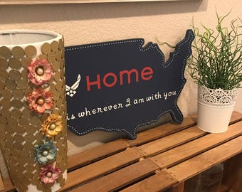 Military home decor