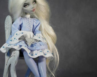 Monster high clothes for doll dress free shipping