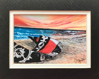 The Kite  Matted Print