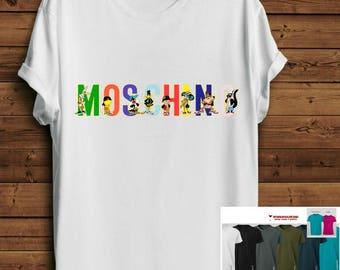 Tumblr Shirt. Parody Shirt. Tumblr Tee. Parody tshirt. Looney Tunes Mosch*no tshirt Haut. Fashion Blogger Tee. Streetstyle Pinterest Shirt.