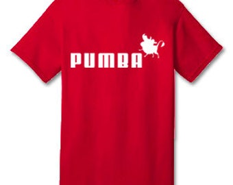 PUMBA 100% Cotton Tee Shirt #D003
