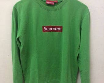 Supreme Box Logo Sweatshirt SIZE large Made In Canada