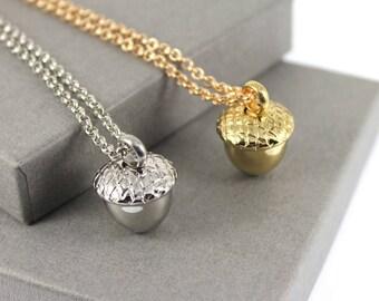 Acorn Urn Cremation Necklace , Memorial Jewellery, Cremation Jewelry, Urn Necklace, Cremation necklace.