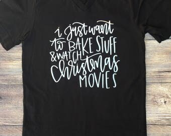 Bake stuff and watch Christmas movies!!