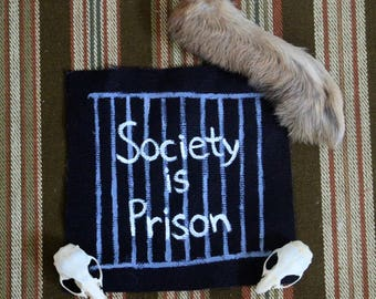 Society is Prison Patch (Pat the Bunny)