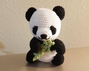Amigurumi Crochet Panda Bear
