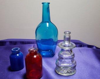 Group of vintage bottles