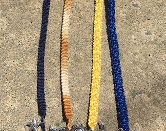 Traditional Tie-On String Friendship Charm Bracelet