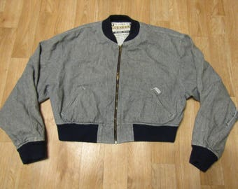 Vintage Guess Jacket Georges Marciano Large USA Classic Style womens G. M. American Cut