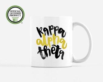 Kappa Alpha Theta Mug - Kappa Alpha Theta Big Little - Kappa Alpha Theta Big Little Sorority - Sorority Gifts - Theta Mug - Theta Gifts