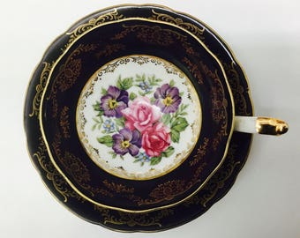 Shafford teacup and saucer.