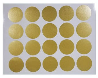 40  2 ''  glitter gold / rose gold polka dot stickers round  gold wall dots home decor adhesive vinyl ( 2  sheets 20 dots per sheet )