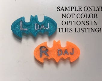 Bat Symbol X-ray Marker, Solid Color option