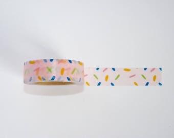 Masking Tape confetti - Christmas gift - packaging - decoration - wedding