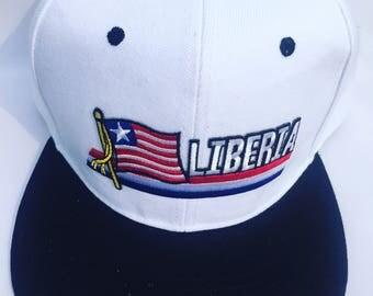 Liberian Flag Hat