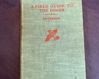 1947 A Field Guide To The Birds Book ~ Free Shipping