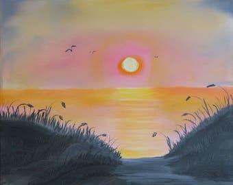 Ocean Sunrise  - c