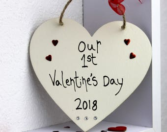 our 1st Valentine's day -valentines day gift for him-Daddy Valentine - valentines day gift-valentines day gift for husbandtine