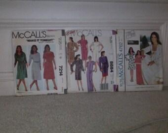 Vintage Dress Pattern Bundle #1