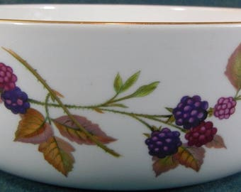 Royal Worcester Evesham Round Bowl