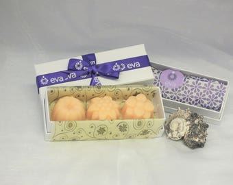 Box of Three Guest Soaps