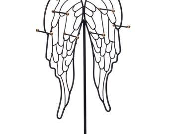 Ikee Design Metal Black Jewelry Display Stand Hanger Organizer (SKU# COP3681BK)
