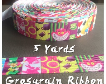 Alice in Wonderland Ribbon 5 yards