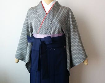 Sale>> New HAKAMA Navy ANDON traditional size 26 POLYESTER
