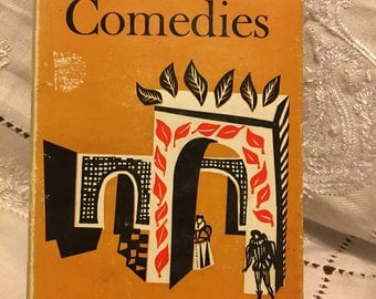 Shakespeare- Comedies. Everymans library 153. Published in 1956.