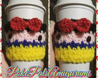 Snow White Cup Cozie