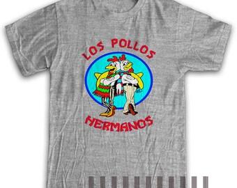Los Pollos Hermanos Shirt T-shirt Unisex Cotton Tee Tshirt